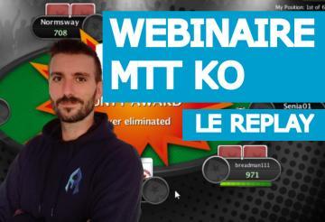 Replay Webinaire :  Initiation aux tournois KO