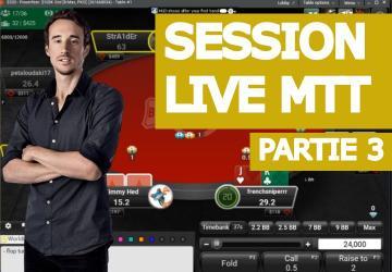 Replay : Benj joue en live des hauts buy-in (3)