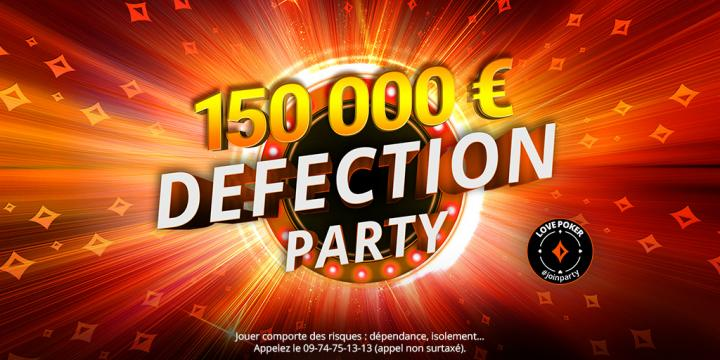 C'est Party pour la Defection Party !