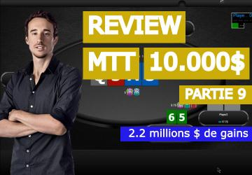 Benj review sa victoire à 2.2 millions de dollars (table finale) (9)