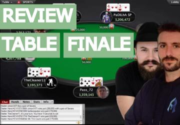 Replay : Sburnoz et Lebordelaii review une table High Stakes (SCOOP 10.000$)