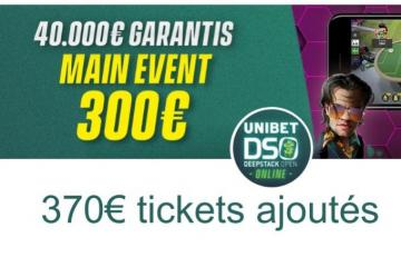 Poker Académie road to DSO : 370€ ajoutés