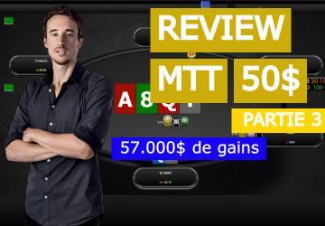 Benj passe à la loupe sa win dans le SCOOP 50$ (3)