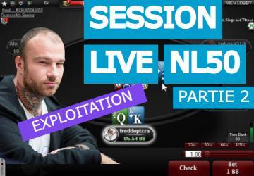Exploiter les erreurs communes des joueurs de NL50 (2)