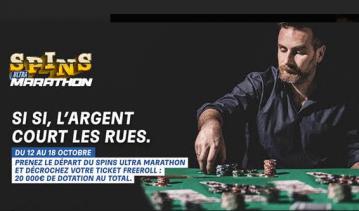 PMU Poker lance les Spins Ultra avec l'opération Ultra Marathon