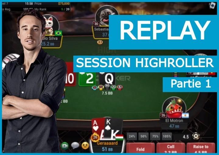 Replay : La victoire de Benj dans le 840$ HighRoller de GGPoker (1)