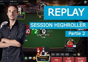 Replay : La victoire de Benj dans le 840$ HighRoller de GGPoker (2)