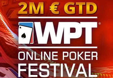2 000 000€ garantis avec le World Poker Tour Online sur Party et PMU