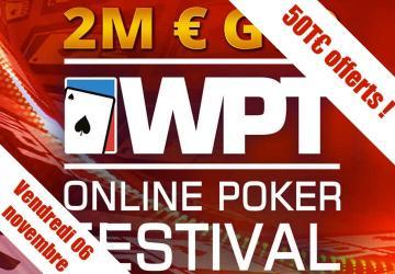 Special World Poker Tour Freeroll - 50€ de tickets ajoutés