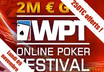 Special World Poker Tour 1€ - 250€ de tickets ajoutés