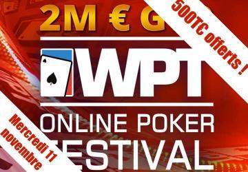Spécial World Poker Tour 5€ - 500€ de tickets ajoutés