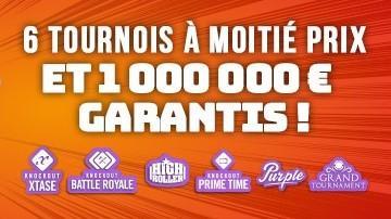 Sunday Funday - 1 000 000€ garantis avec Winamax !