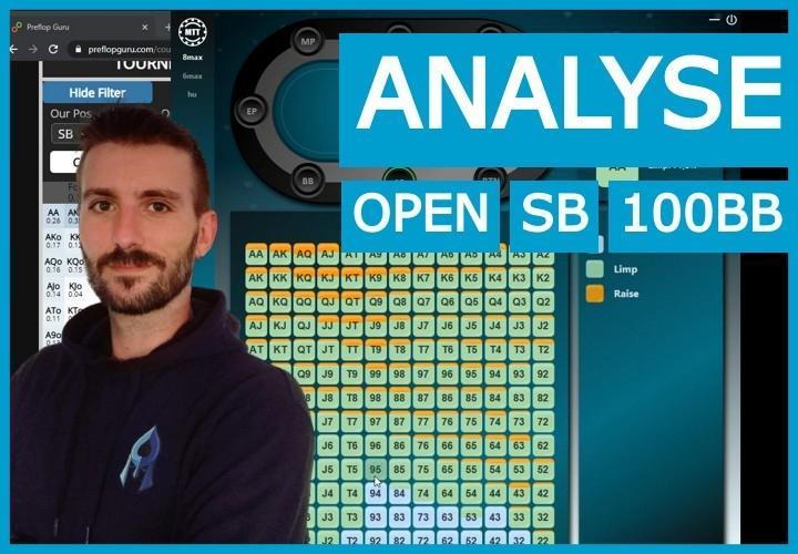 Stratégie d'open de SB à 100BB deep