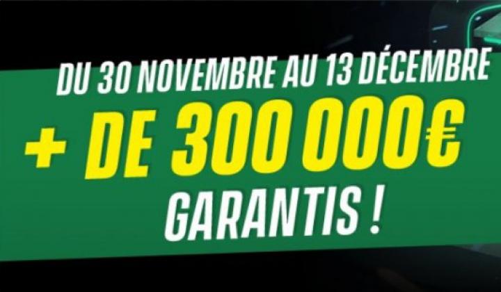 Unibet Online Serie : +300 000€ de dotations garanties !