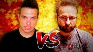 Negreanu vs. Polk : Doug en godmode, Daniel whine