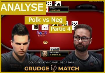 Negreanu vs Polk Match 3 (2) - Le call à 200K dollars de Negreanu