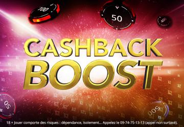 Du 21 au 27 décembre bénéficier de 50% de Cashback supplémentaire sur partypoker !