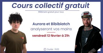 Cours collectif gratuit ce vendredi, avec Bibi et Aurora
