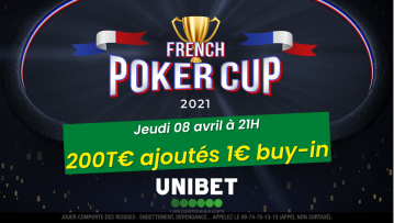 Pokac 2 Championship (1€) : 200€ ajoutés