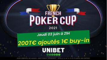 Pokac 6 Championship (1€) : 200€ ajoutés