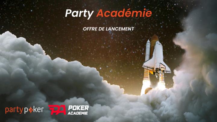 Party Académie : 3 mois d'abonnement vidéos offerts !