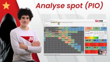 Analyse d'un spot en NL200