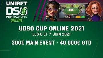 UDSO online est de retour les 6 et 7 juin 2021 avec 40 000€ de GTD