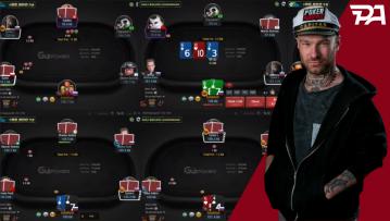 Bibibiatch se frotte aux regs 1K GG Poker