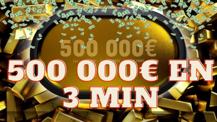 Blagops analyse 2 énormes jackpots à 250 00€ et 500 000€ !
