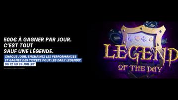 Les Daily Legends sont là sur PMU et partypoker !
