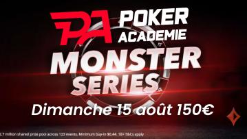 Pokac 3 Championship (1€) : 150€ ajoutés