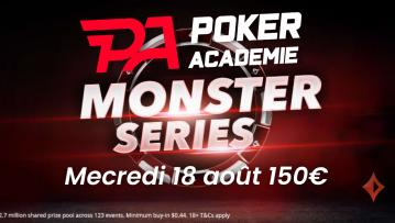 Pokac 4 Championship (1€) : 150€ ajoutés