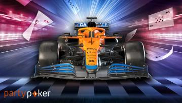 Vivez l'ultime expérience F1 grâce à McLaren Card Rush sur partypoker !