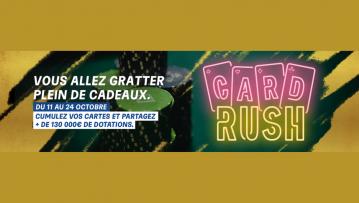 Le retour du CARD RUSH sur PMU ! 130.000€ de dotation à gagner !