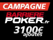 Campagne Barriere Poker Tour 3100€ ajoutés