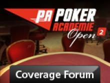 Coverage - Poker Academie Open 2