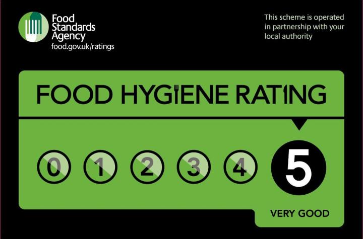 Food Standards Agency 5 rating