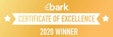 Bark Certificate Of Excellence Winner