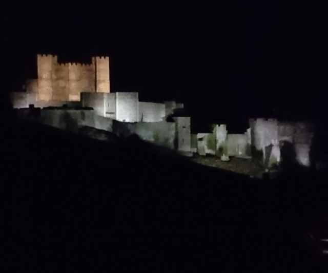 Dover Castle Flood lighting upgrade