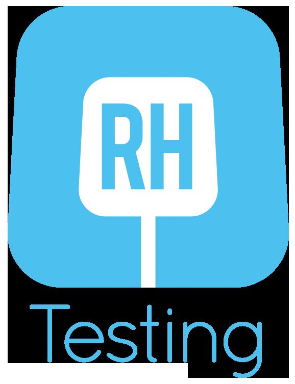 R H Testing logo
