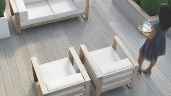 Millboard Enhanced Grain Smoked Oak 3