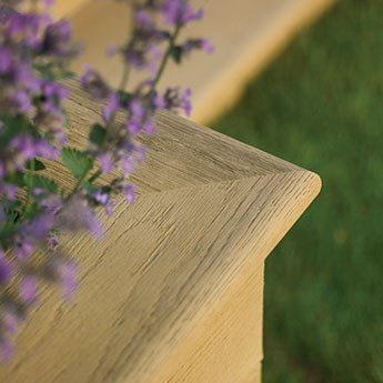Millboard Edging Fascia Bullnose Board