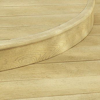 Millboard Edging Fascia Flexible Bullnose
