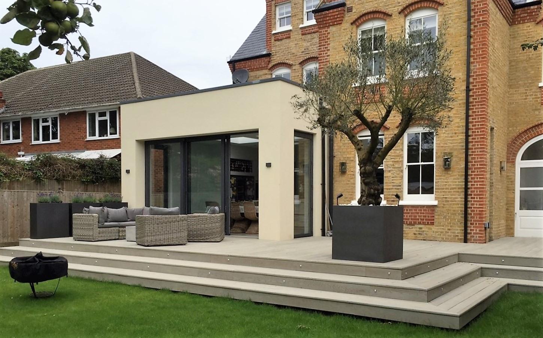 London Stone Partner Garden House Design