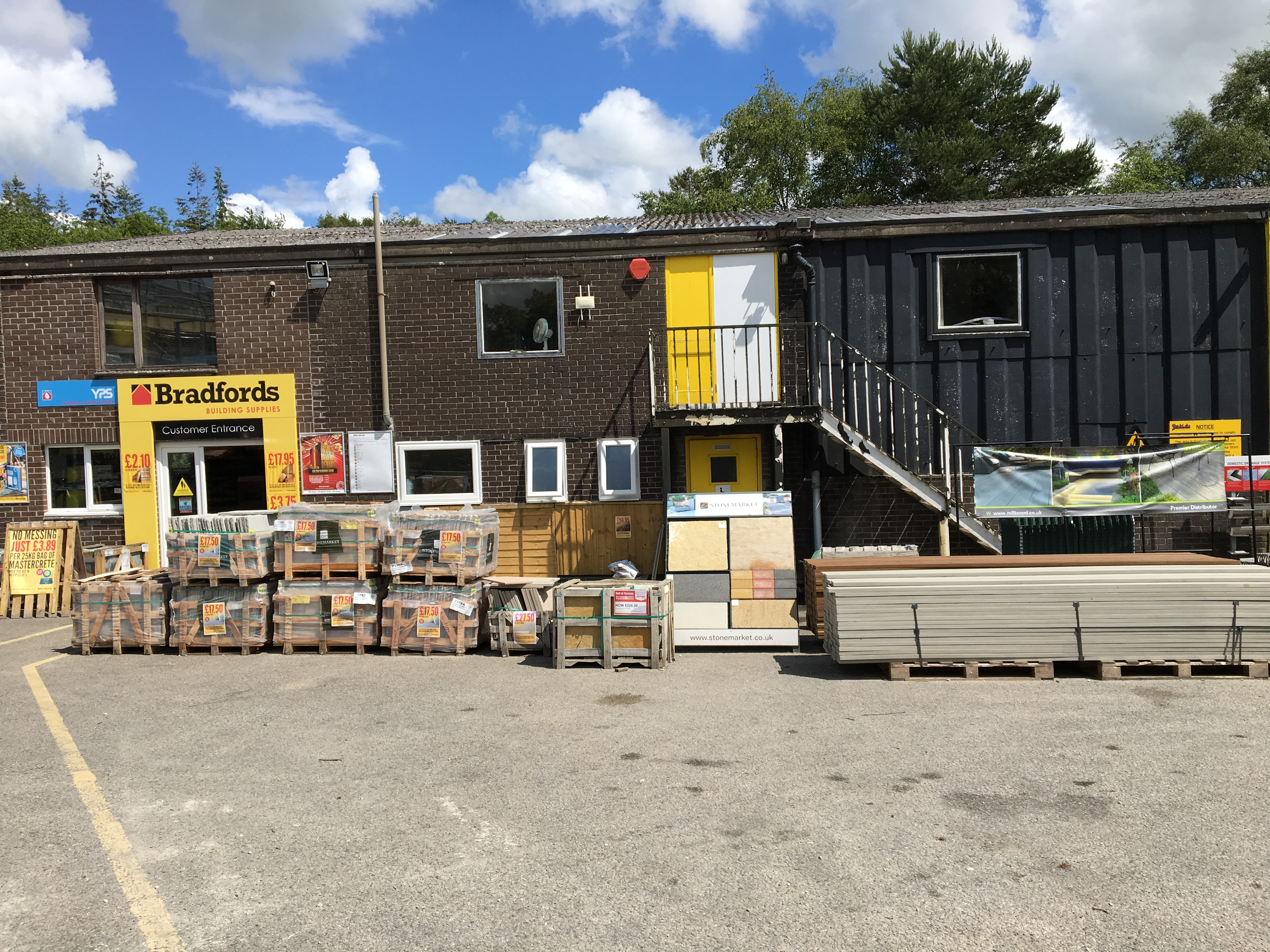 Bradfords Building Supplies Liskeard