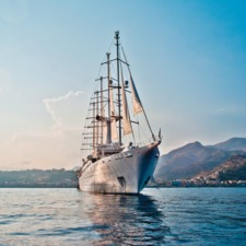 Windstar Cruises - Wind Surf at sea
