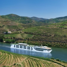 Scenic Azure on the Douro river