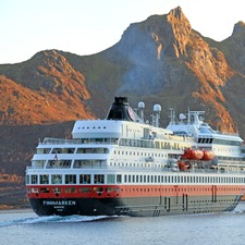 Hurtigruten - MS Finnmarken in Norway
