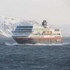 Hurtigruten - MS Trollfjord (set to be renamed as MS Maud)