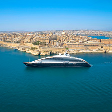 Scenic Eclipse in Valletta
